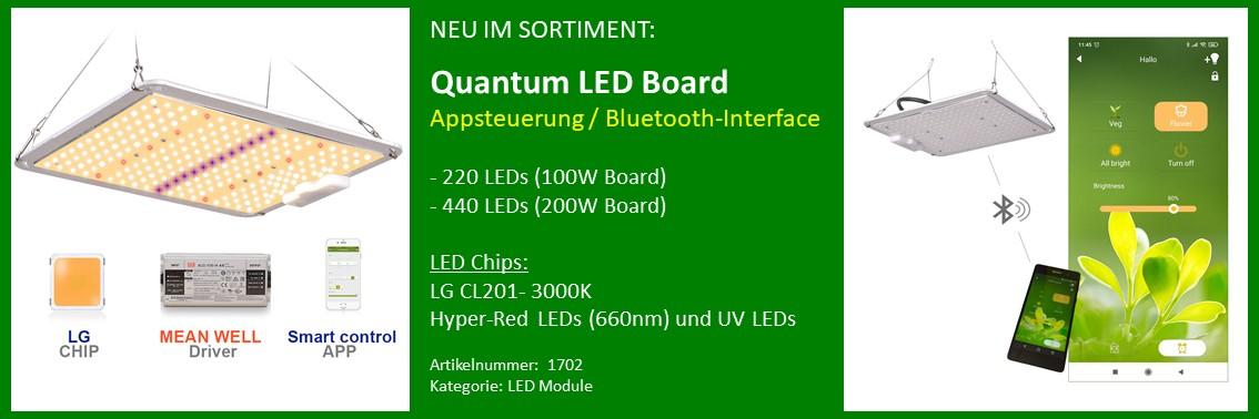 Banner LED Board mit App Steuerung