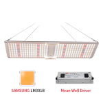 Quantum Board Samsung LM 301B LED Panel Meanwell-Treiber mit red 660nm
