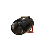 Rohrventilator D100/125/150mm Black Orchid Silent Hybrid Flo leise Grow Abluft