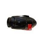 Rohrventilator D100mm Black Orchid Silent Hybrid Flo...