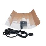 Nicegrow Reflektor Hammerschlag - Standard verkabelt