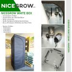 Vorzucht Komplettset 80 Energiesparlampe LED 2 x 26W 6400K