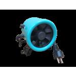 Growzelt Lüfter EC Rohrventilator 125mm 8 Stufen Regler Abluft Ventilator Grow
