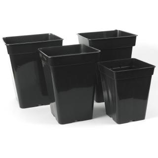 Vierkant-topf 3 -11 L liter 4-Kant Topf viereckig Blumentopf Anzucht Pflanz Topf