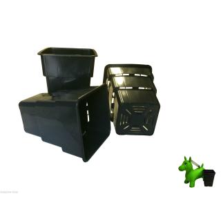 Vierkanttopf Air Max 5,5 und 8 Liter 4-Kant Topf viereckig Blumentopf Anzucht