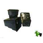 Vierkanttopf Air Max 5,5 und 8 Liter 4-Kant Topf...